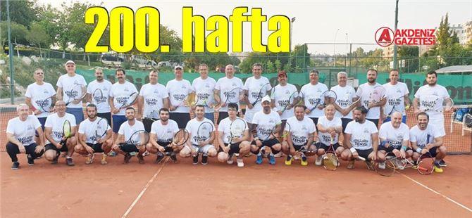 """""""Tarsus Krallar Tenis Turnuvası"""" bugün 200. kez oynanıyor"""