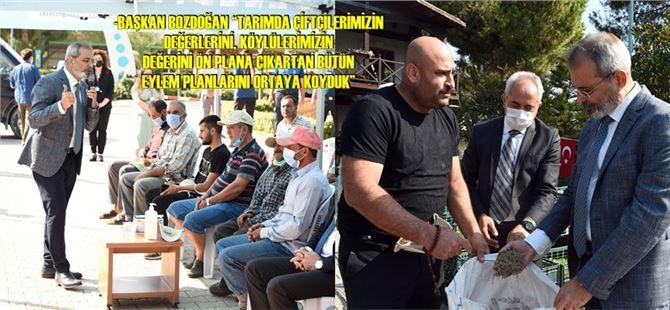 Tarsus Belediyesi çiftçilere 500 bin fide dağıttı