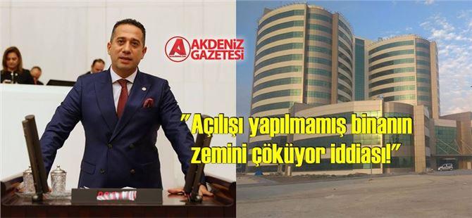 Ali Mahir Başarır, yeni hastane ile ilgili soru önergesi verdi