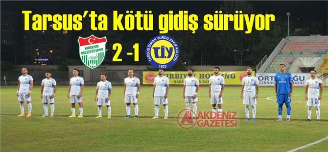 Tarsus, Kırşehir deplasmanından eli boş dönüyor: 2-1