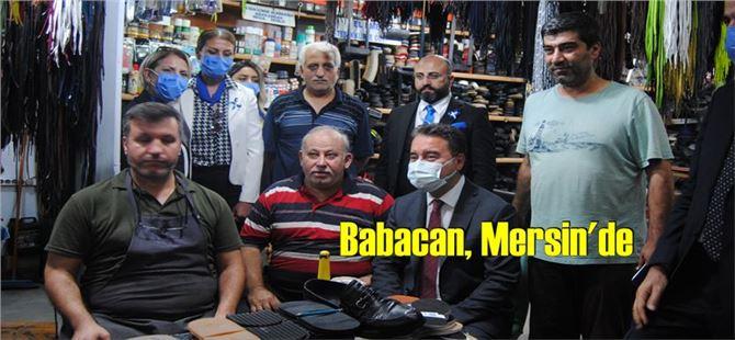Ali Babacan, Mersin'de farklı kesimlerle bir araya geldi