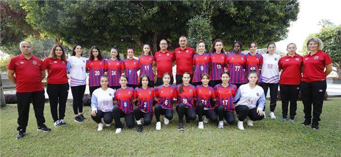 Mersin GSK Kadın Hentbol Takımı Mardin Kızıltepe'yi 34-27 Yendi