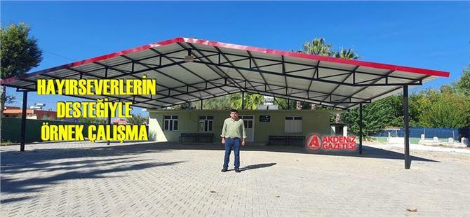 Tarsus'ta Aliağa Mahallesi'nde ki taziye evi ve ziyaretlere kapsamlı bakım