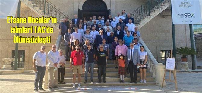 Efsane Hocalar'ın isimleri TAC'de Ölümsüzleşti