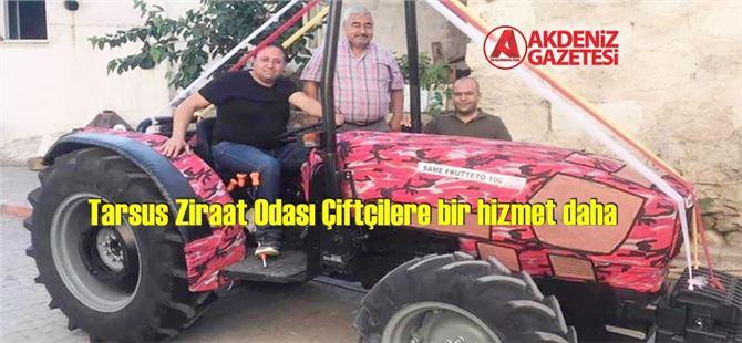 Tarsus Ziraat Odası Çiftçilere bir hizmet daha
