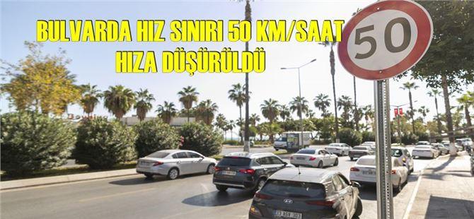 Adnan Menderes Bulvarı, hız limiti tedbiriyle daha güvenli olacak