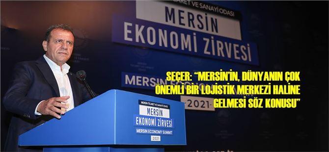 Başkan Seçer, Mersin Ekonomi Zirvesi'ne Katıldı