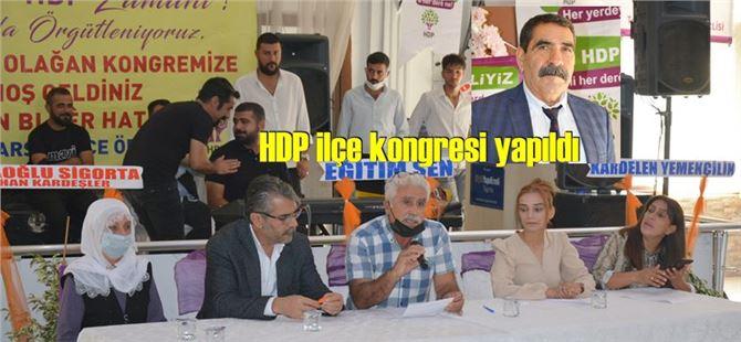 HDP Tarsus İlçe Başkanlığına Faik Altun seçildi