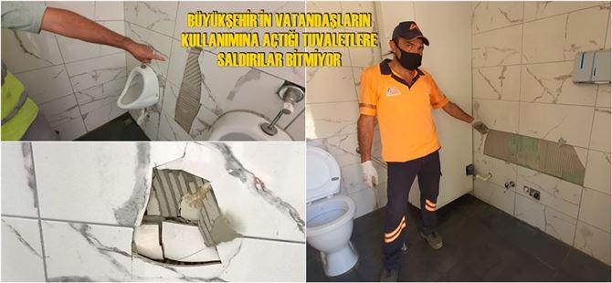 Tarsus'taki tuvaletlere iki ay içerisinde üçüncü saldırı