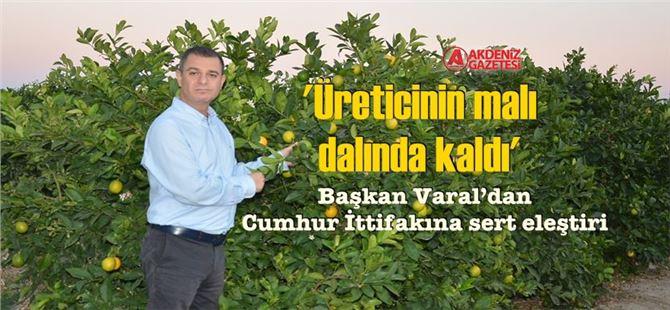 """CHP İlçe Başkanı Ozan Varal:"""" """"İnsanımız adım adım açlığa sürükleniyor!"""""""
