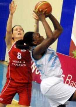 Kadın basketçiler, Mersin'de mağlup