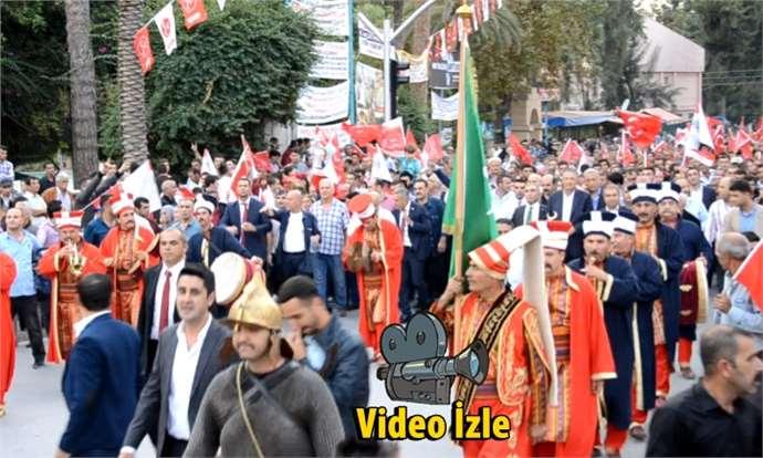 Tarsus MHP'den Büyük Yürüyüş (Video)