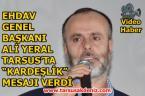 Ali Yeral Tarsus'ta
