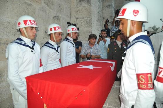 Şehit Cemre Salih Gözen cenaze namazı